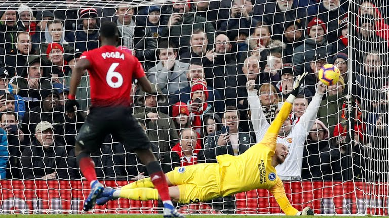 Hasil Pertandingan Manchester United vs Brighton Albion 19 Januari 2019