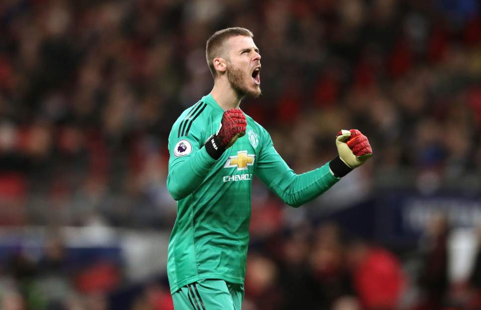 David De Gea Catat clean sheet Di Kandang Tottenham Hotspur
