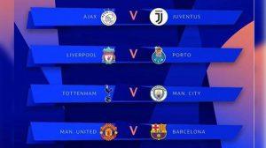 Liga Champions: Hasil Undian Peserta Perempat-Final