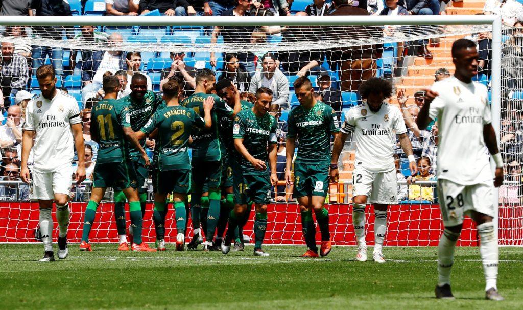Madrid Akhiri Musim Dengan Kekalahan